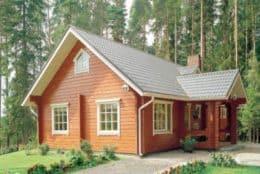 Дом из профилированного бруса с перерубами, Малоярославец, Калужская область