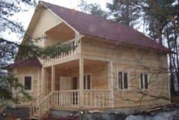 Строительство дома из бруса под ключ в г. Юхнов, который находится в Калужской области