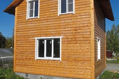 Дом из профилированного бруса в Торопце