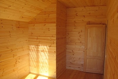 Строительство и внутренняя отделка дома из бруса в с. Лесное