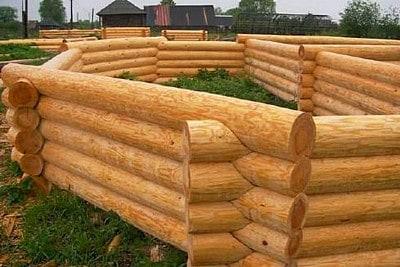 Строительство дома из бревна для доставки в Сандовский район