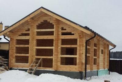 Строительство срубов и домов из бруса в Ваде и Вадском районе