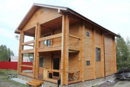 Срубы и дома из бруса в Кстово и Кстовском районе