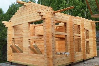 Строительство срубов и домов из бруса в Пильне и Пильнинском районе