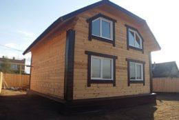Строительство срубов и домов из бруса в Борисоглебском районе