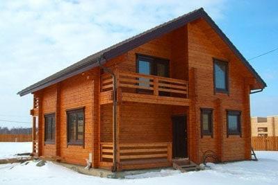 Строительство деревянных домов в Брейтово