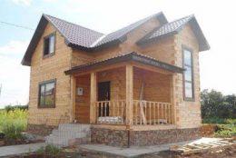 Срубы и дома из бруса в Пречистом и Первомайском районе