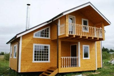 Строительство деревянных домов в Пошехонье